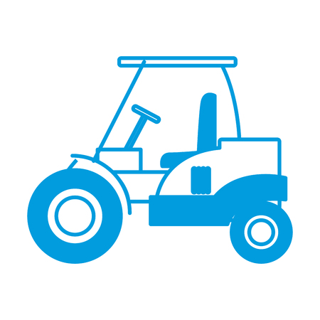 steamroller truck construction machinery build equipment vector illustration Illustration