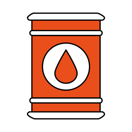 barrel oil industry related icon image vector illustration design