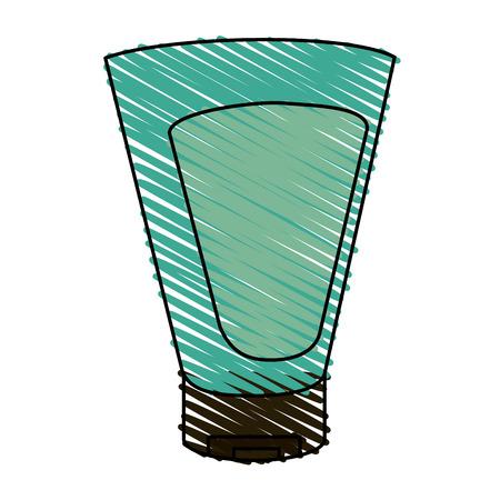 健康的なライフスタイルとケアテーマのボディクリーム孤立したデザインベクトルイラスト