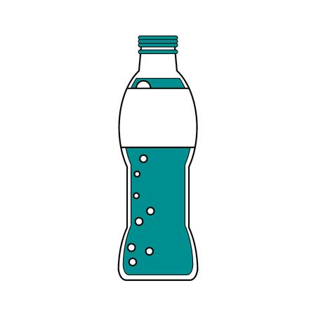 ドリンク飲料テーマ分離デザイン ベクトル イラストのソーダ  イラスト・ベクター素材