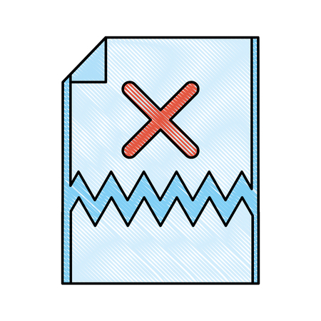 Error 404 not found icon vector illustration graphic design