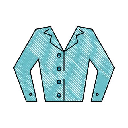 Pyjama sleep wear icon vector illustration graphic design Illustration