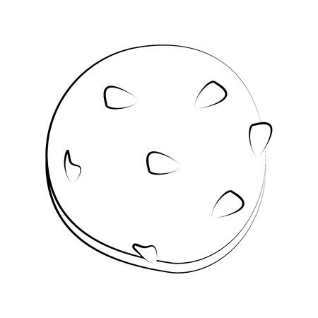 indulgence: Delicious cookies desserts icon vector illustration graphic design