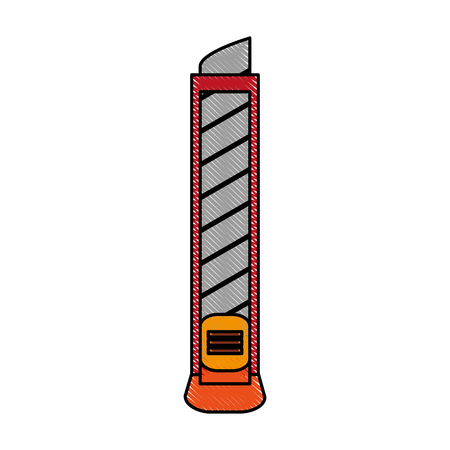 blade cutter tool icon image vector illustration design