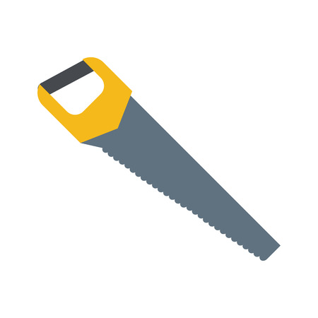 saw tool icon image vector illustration design