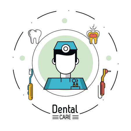 Dental care infographic icon vector illustration graphic design