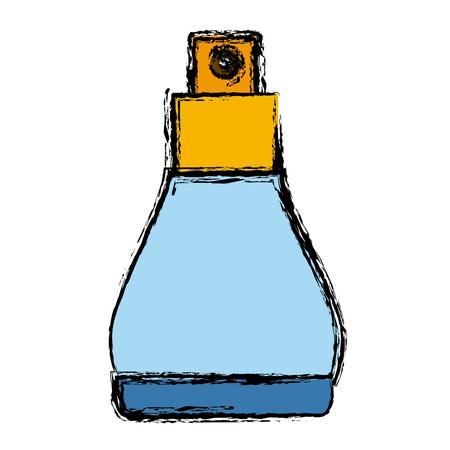 atomizer fragace jar ioon vector illustration graphic design Illustration