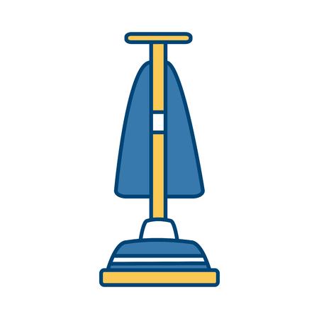 hoover vacuum cleaner icon vector illustration graphic design Illustration