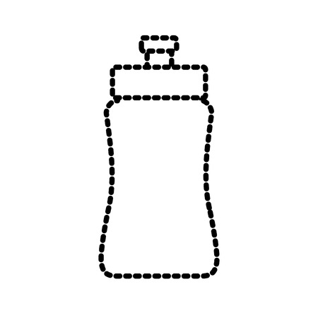 sports equipment: water sport bottle icon vector illustration graphic design