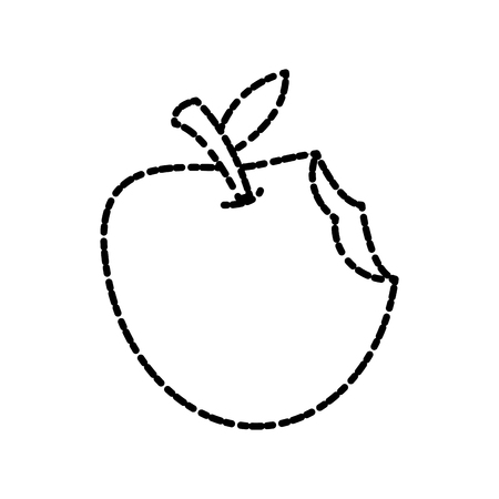 Apple fruit isolated icon vector illustration graphic design