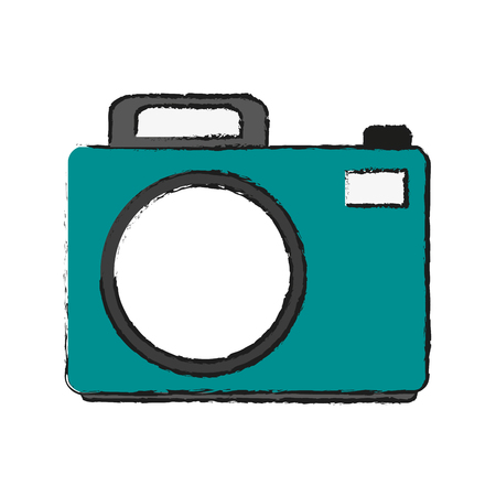 details: photographic camera icon image vector illustration design