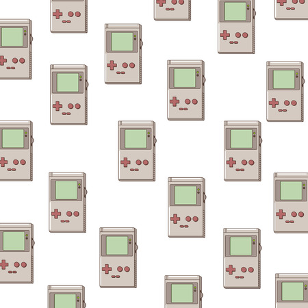 Tetris game background icon vector illustration graphic design