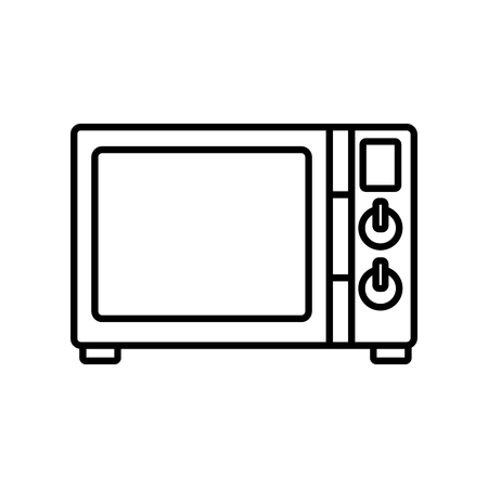 lcd display: Old tv technology icon vector illustration graphic design Illustration