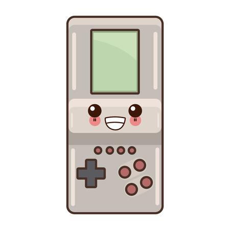 Tetris video game graphic design. Illustration