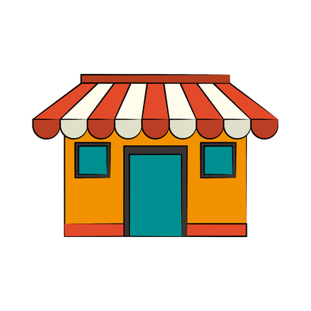 merchant: store or shop icon image vector illustration design