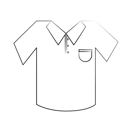 gat: outfit or uniform golf related icon image vector illustration design Illustration