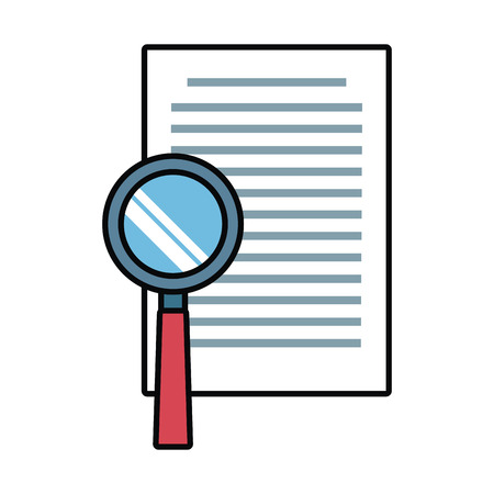 sheet: Document check symbol icon vector illustration graphic design