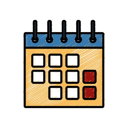 calendar design: Calendar Event symbol icon vector illustration graphic design Illustration