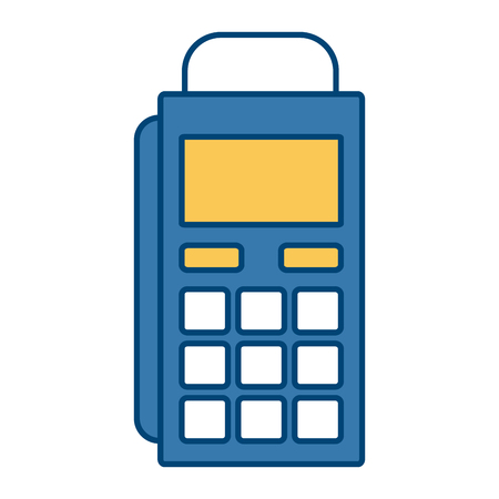 storage: Dataphone payment service icon vector illustration graphic design Illustration