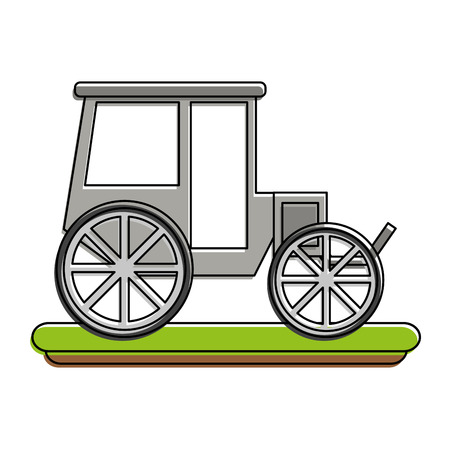 Carriage or chariot icon