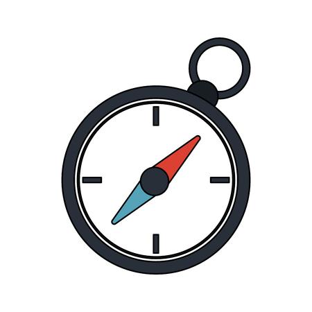 compass navigation  icon image vector illustration design