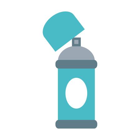 Open aerosol can icon