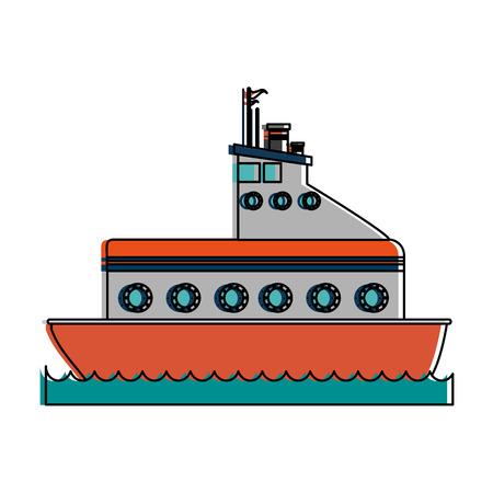 Motor boat icon vector illustration design Ilustracja