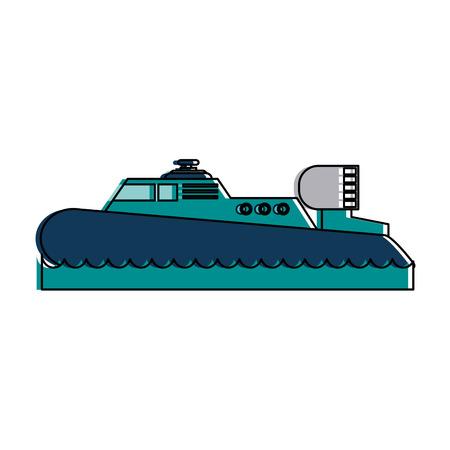 Motor boat icon vector illustration design Illustration