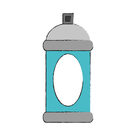 Spray paint bottle icon vector illustration graphic design Illustration