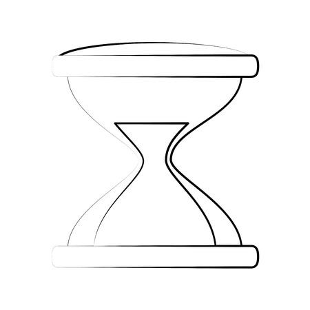 Hourglass icon.