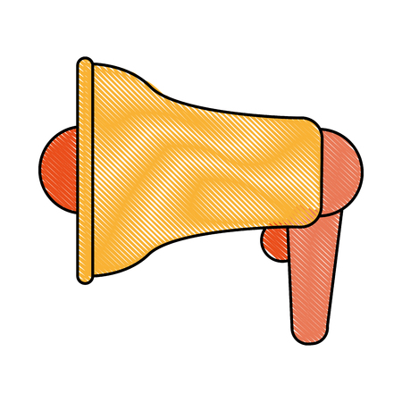 bullhorn or loudspeaker icon image vector illustration design Illustration