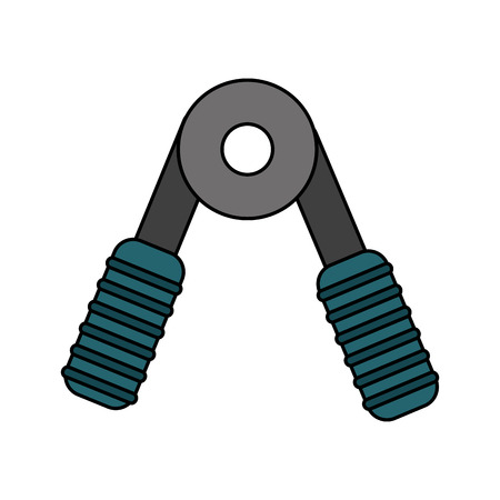 hand grip sports icon image vector illustration design