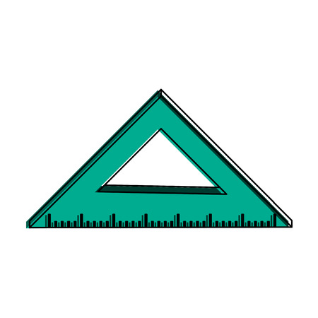 Ruler measuring icon