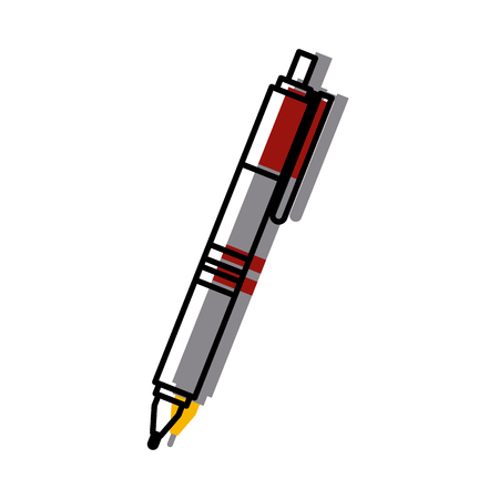 Office pen isolated icon vector illustration graphic design Illustration