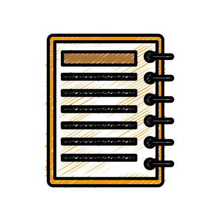 Sheet office document icon vector illustration graphic design