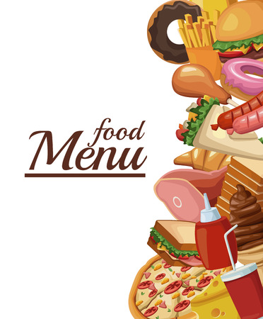 Food restaurant menu icon vector illustration graphic design