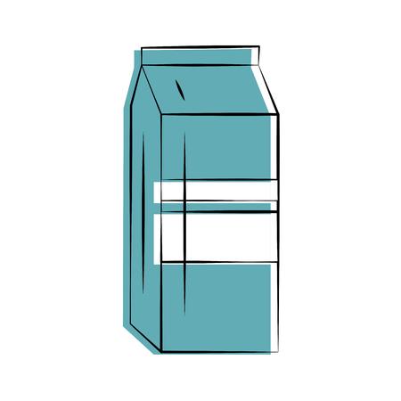 pasteurized: milk carton icon image vector illustration design