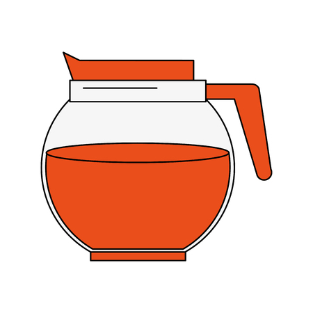 Coffee kettle drink icon vector illustration graphic design