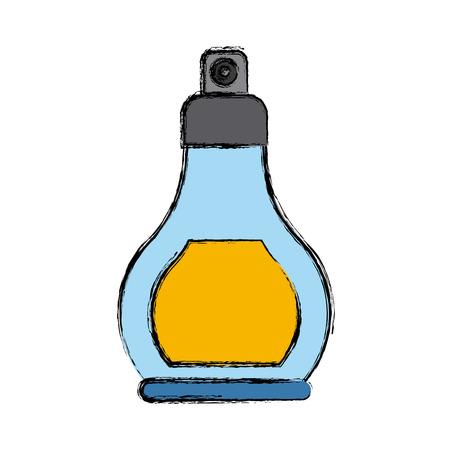 Fragrance in bottle icon