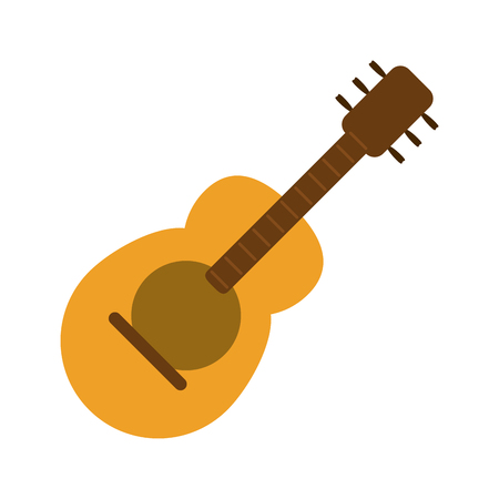 guitar music instrument icon image vector illustration design