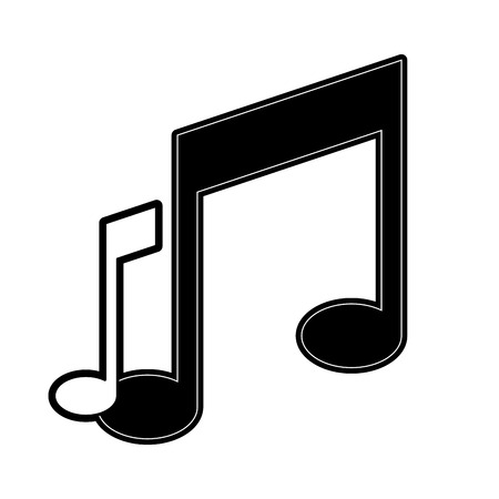 music notes icon image vector illustration design black and rh 123rf com vector music notes illustrator vector musical notes