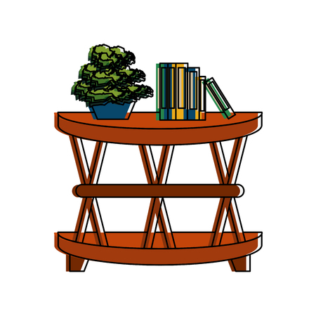 accent cage table furniture icon image vector illustration design