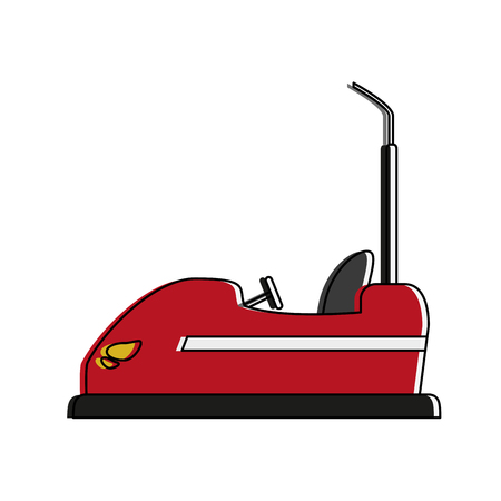 bumper cars icon image vector illustration design