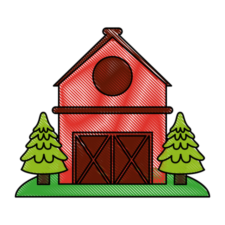 red barn doors clip art. barn house or home icon image vector illustration design red doors clip art