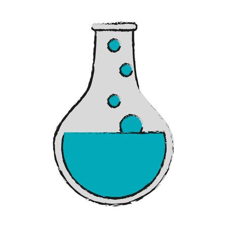 round bottom flask icon image vector illustration design