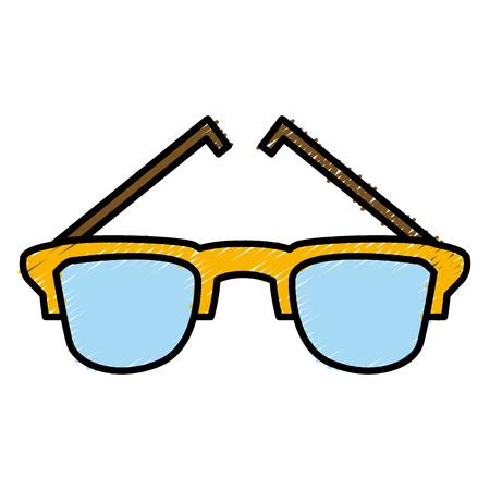 Sunglasses isolated symbol icon vector illustration graphic design Illustration