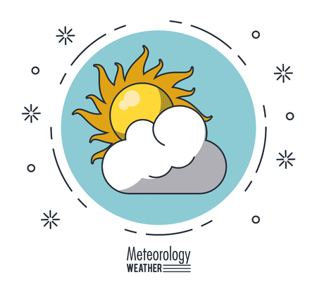 Meteorology and weather icon illustration graphic design.