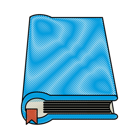 Literature book closed icon vector illustration graphic design Illustration