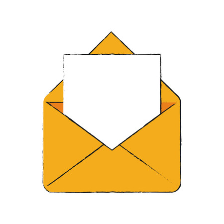 Envelope message symbol icon vector illustration graphic design