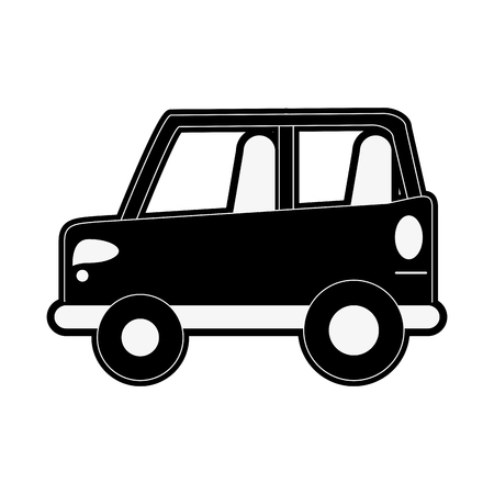 website backgrounds: truck van car icon image cargo truck icon image  black and white Illustration